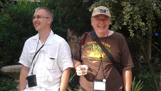 Gaz and Gerhard.