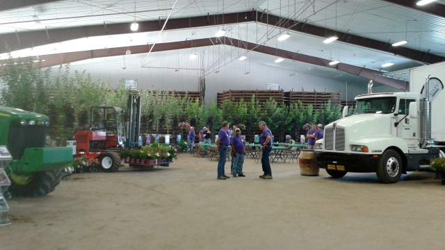 The massive facilities of Bailey Nurseries, all decked out with the latest and greatest.