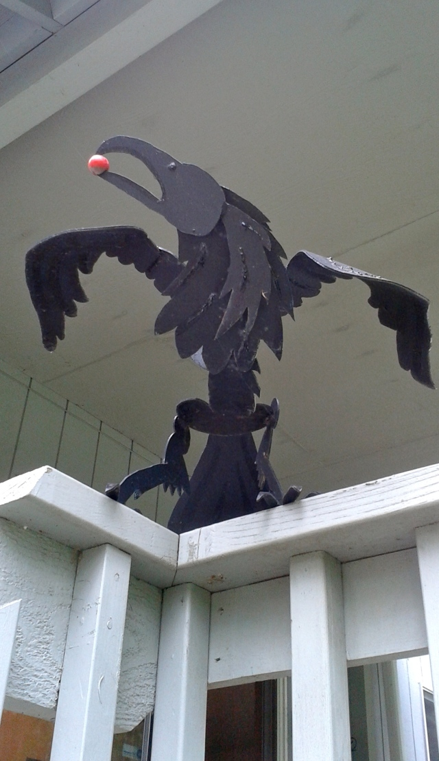 Not every house can say it has its own Raven!