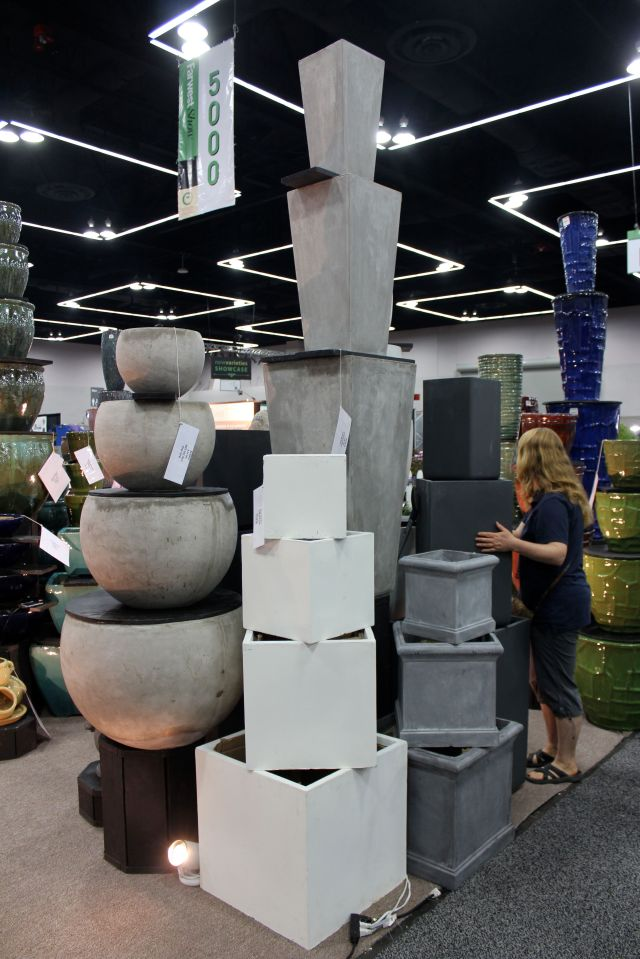 Stacks upon stacks of cool pots...
