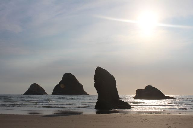 Like actors on a stage, the rocks perform the same play, time and time again. I watch, and every day, I return for more. The Oregon coast is good for my soul.