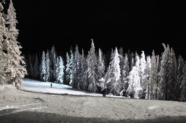 #Winter Wonderland #Mt Hood Skibowl, #nightskiing