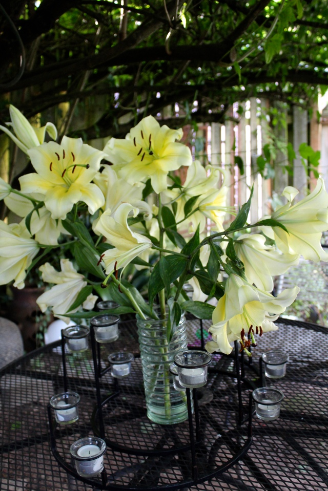 Conca d'Or lilies