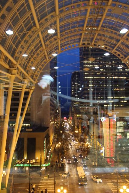 View toward the Puget Sound from the Washington Convention Center - home of the NWFGS.