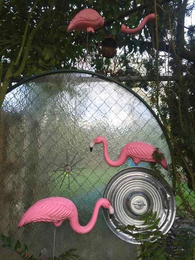 Flamingo vignette
